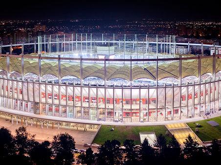 Architekturfotografie: Stadionul National Lia Manoliu   București