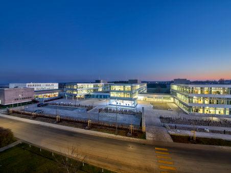 Architekturfotografie: Neue Firmenzentrale Grammer Ursensollen