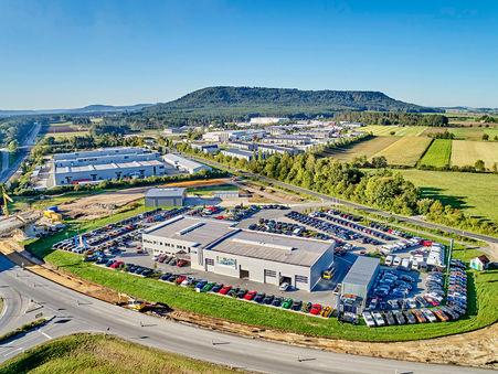 Drohnen-Luftbild: Firmenstandort Kölbl Automobile, Neumarkt i.d. OPf.