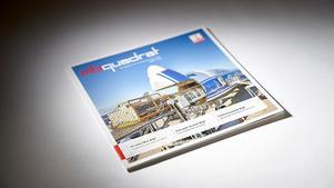 Industriefotografie: Veröffentlichung auf Titel von Kundenmagazin | Firmengruppe Max Bögl