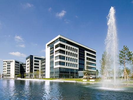 Architekturfotografie: Businesscampus Garching bei München