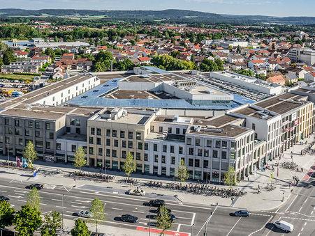 Drohnen-Luftbild: Neuer Markt in Neumarkt i.d. OPf.
