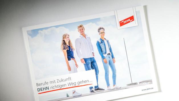 Business Portrait: Veröffentlichung auf Titelseite von Recruitingbroschüre | DEHN SE + Co KG