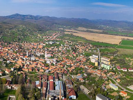 Drohnen-Luftbild: Bauland in Nitra/ Pukanec/ Slovakei