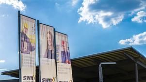 Business Portrait: Veröffentlichung auf Banner | Stadtwerke Neumarkt