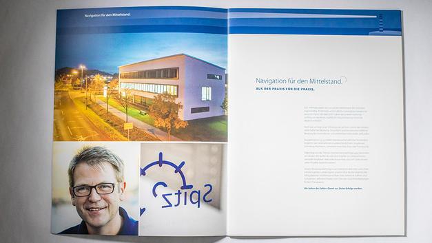 Business Portrait: Veröffentlichung in Firmenbroschüre der Spitz Georg Wirtschafts- u. Steuerberatung