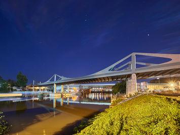 Architekturfotografie: neue Neckarbrücke | Stuttgart 21