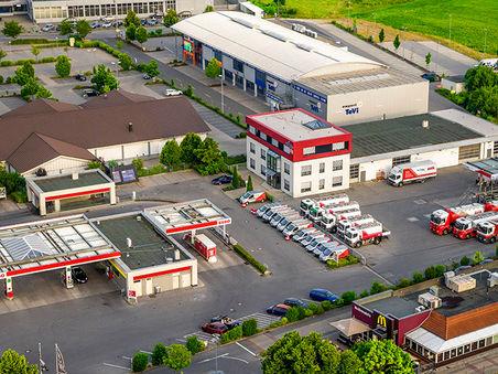 Drohnen-Luftbild: Firmenstandort Rödl Energie Neumarkt i.d. OPf.