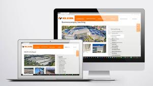 Drohnen Luftbild: Veröffentlichung auf Website |  Unternehmensgruppe Klebl