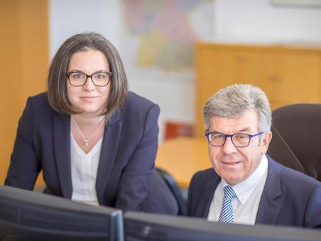Business Porträt: Sandra und Josef Weigert, WEIGERT + KUNDE Unternehmensberatung GmbH in Neumarkt i. d. OPf. und Düsseldorf.
