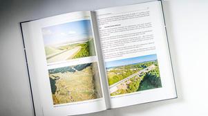 Drohnen Luftbil: Buchveröffentlichung Integrale Brücken | Entwurf, Berechnung, Ausführung, Monitoring