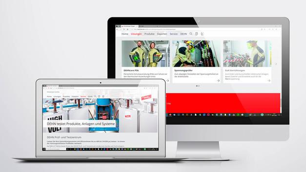 Industriefotografie: Veröffentlichung in Website | DEHN SE + Co KG