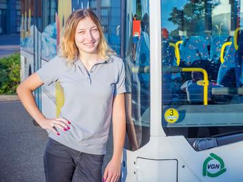 Business Porträt: Fachkraft im Fahrbetrieb, Stadtwerke Neumarkt i.d. OPf.