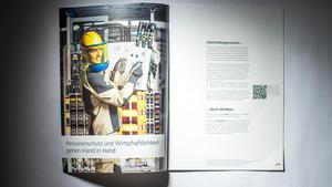 Business Portrait: Veröffentlichung in Produktbroschüre | DEHN SE + Co KG