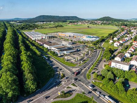 Drohnen-Luftbild: NEUMAX Fachmarktzentrum Neumarkt i.d. OPf.