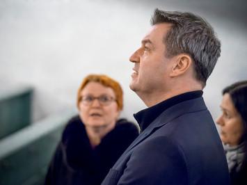 Business Porträt:  Dr. Markus Söder im Evangelischen Zentrum in Neumarkt i.d. OPf. 2018
