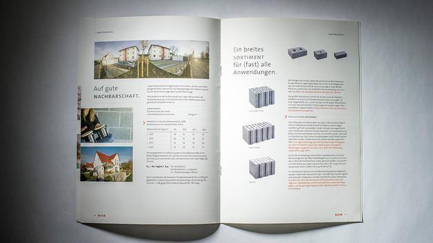 Industriefotografie: Veröffentlichung in Produktdatenblatt der MEIER Betonwerke GmbH Lauterhofen