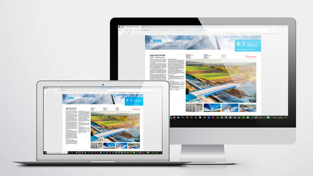Drohnen Luftbild: Veröffentlichung auf der Website der Bayerische Ingenieurekammer