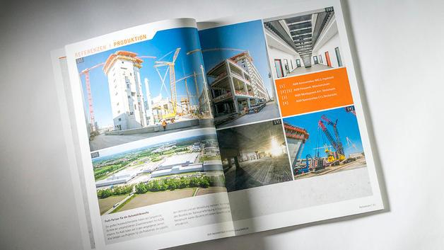 Drohnen Luftbild: Veröffentlichung in Imagebroschüre |  Unternehmensgruppe Klebl