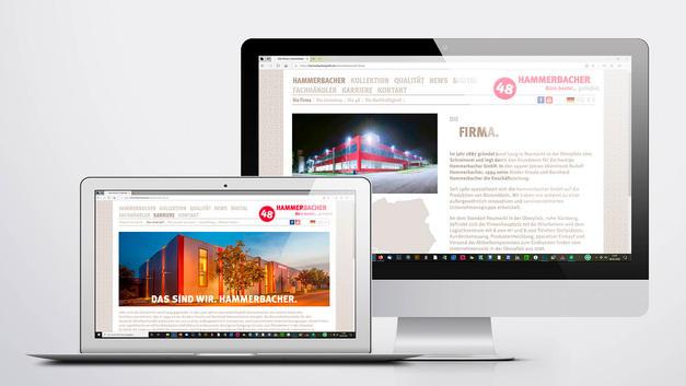Industriefotografie: Veröffentlichung auf Website | Hammerbacher GmbH