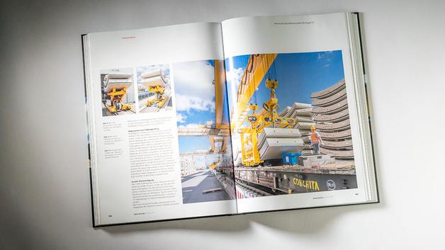Industriefotografie: Veröffentlichung über Tübbinge im  Bauverlag BV GmbH