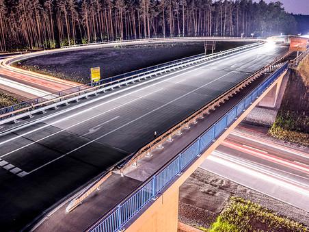 Industriefotografie: Segmentbrücke Greißelbach bei Neumarkt i.d. OPf.
