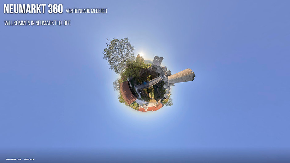 Start 360 Grad Virtueller Rundgang Neumarkt i.d. OPf.