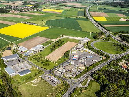 Drohnen-Luftbild: Gewerbegebiet Berg, Neumarkt i.d. OPf.