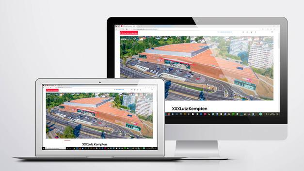Drohnen Luftbild: Veröffentlichung auf der Website der Eckenweber Bauleitung Projektleitung