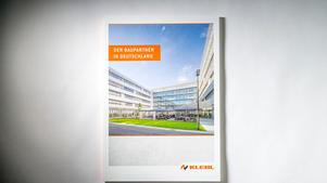 Architekturfotografie: Veröffentlichung auf Titel der Imagebroschüre |  Unternehmensgruppe Klebl