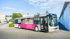 Architekturfotografie: Veröffentlichung auf Stadtbus | Stadtwerke Neumarkt