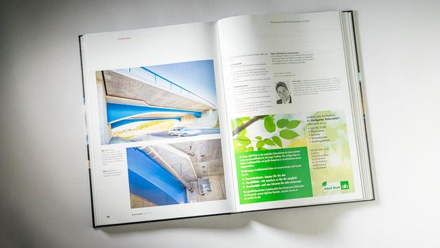Industriefotografie: Veröffentlichung in Publikation des  Bauverlag BV GmbH