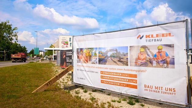 Business Portrait: Veröffentlichung auf Bauzaunbanner |  Unternehmensgruppe Klebl