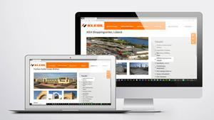 Drohnen Luftbild Veröffentlichung auf Website |  Unternehmensgruppe Klebl