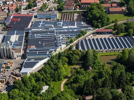 Drohnen-Luftbild: Produktionsstandort BayKa Roth