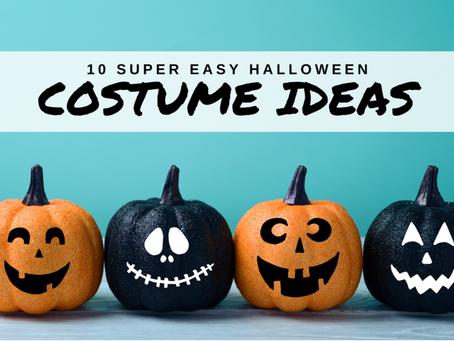 10 Super Easy Halloween Costume Ideas