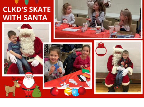 CLKD Skate With Santa 2019 - Thanks For Coming!