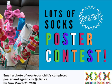 """""""Lots of Socks"""" Poster Contest!"""