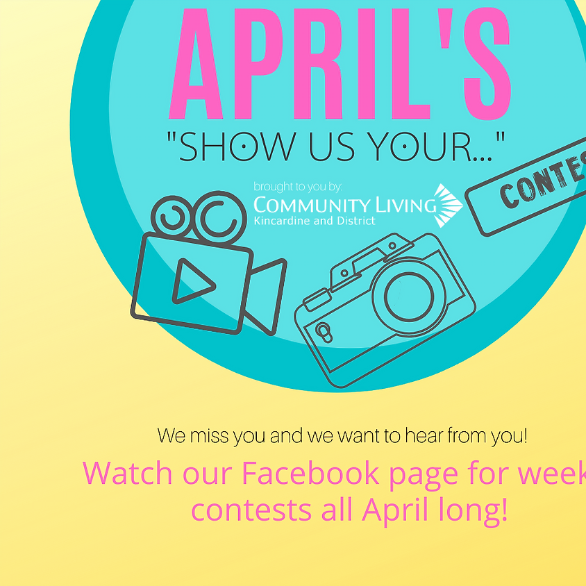 """""""Show Us Your..."""" Contest"""