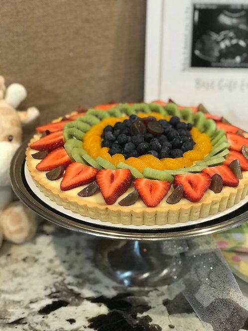 Fruit Tart- Made without gluten.