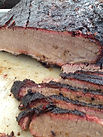 competition brisket sliced