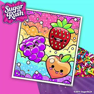 Fruity friends come to life in this coloring tutorial.