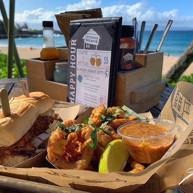 Kapalua Beach, Hamburger Shack_