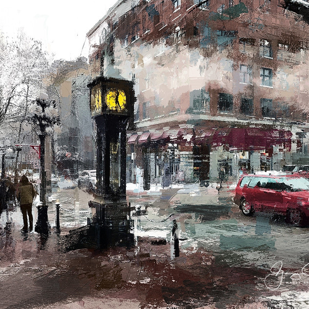 Steam Clock, Gastown, Vancouver