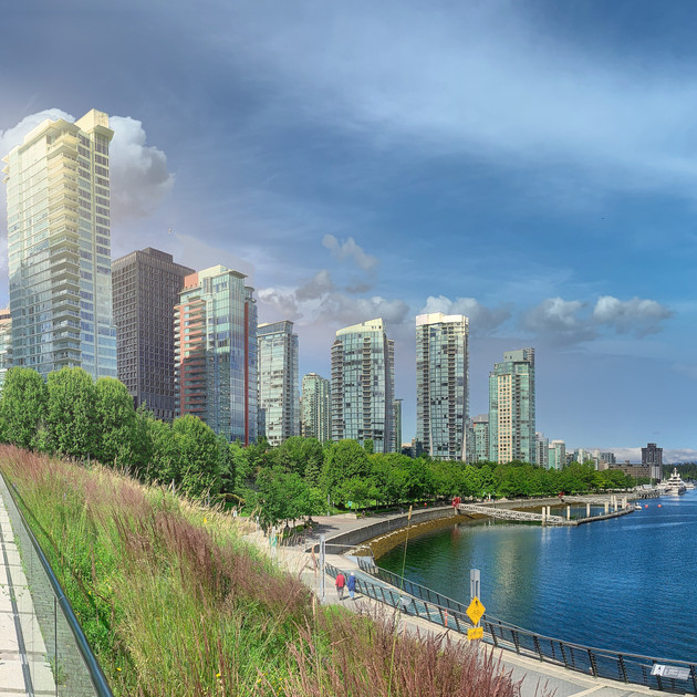 Coal Harbour Morning, Vancouver_