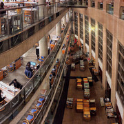 Inside the Vancouver public library.