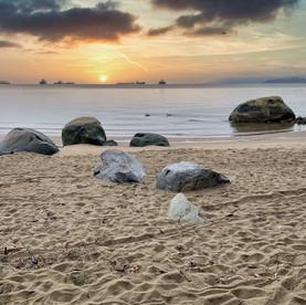 Third Beach at Sunset, Stanley Park, Van