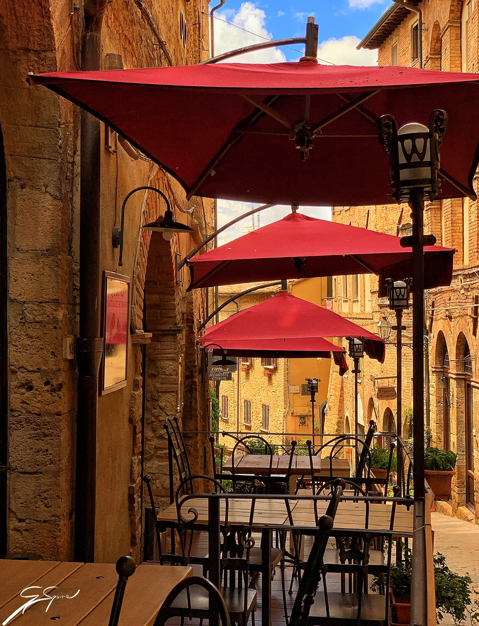 Volterra, another walled town_