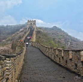 Great Wall in Spring.