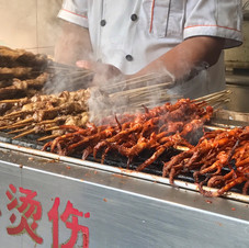 Chinese street food.
